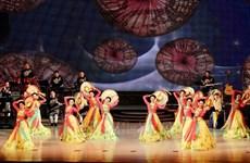 越南国家艺术团在朝鲜进行演出