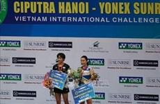 2019年越南羽毛球国际挑战赛:印尼运动员优秀取得良好成绩