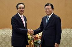 政府副总理郑廷勇会见日本丸红株式会社社长