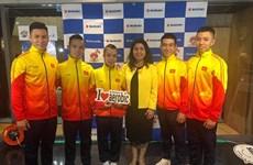 越南体育团在世界健美操锦标赛荣获三枚金牌