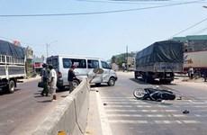 越南三天假期结束 发生车祸97起,致66人死亡