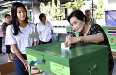 泰国搞定重新投票最后期限