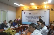 越南与英国合作提升癌症治疗质量