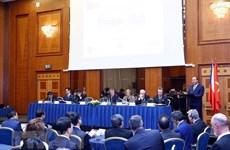 越南与捷克两国总理共同主持越捷两国企业论坛