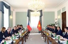 越捷两国总理举行会谈  双方就加深合作达成共识