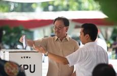 印尼总统选举:现任总统佐科支持率暂时领先