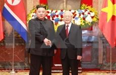 越南领导人就朝鲜选举产生新一届领导班子向朝鲜领导人致贺电