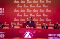 黄平君率团赴亚美尼亚出席亚欧政党国际会议