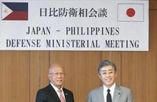 日本与菲律宾承诺推动防务合作
