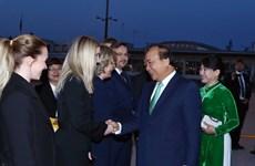 越南政府总理阮春福圆满结束对罗马尼亚和捷克的正式访问