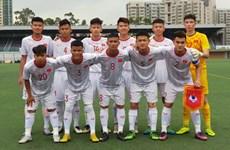 2019中国香港国际U18足球赛:越南队取得开门红