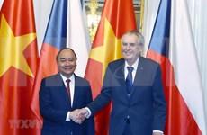 越南政府总理阮春福访捷之行为两国合作开辟新篇章