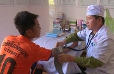 越老边界友好军民诊所--越老友好军民友谊工程