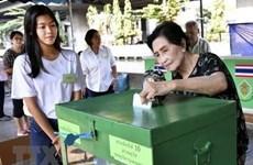 泰国在部分投票站重新进行大选投票