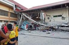 菲律宾中部发生6.3级地震  至少9人死亡