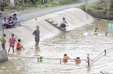 各国际组织协助同塔省开展儿童溺水预防项目