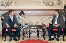 胡志明市与韩国京畿道安山市加强合作