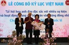 樱花节创下越南纪录
