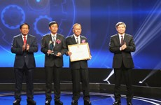 2018年发明创新大赛奖仪式在河内举行