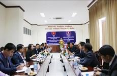 越南与老挝加强民族工作的合作