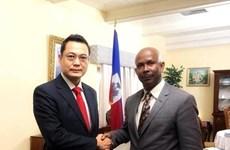 越南和海地两国共同提升双方合作层次和水平