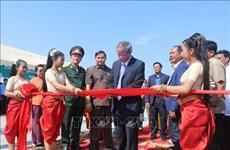 越柬友谊纪念碑落成仪式在班迭棉吉省举行