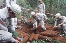 广治省在9100公顷的雷区开展扫雷和扫除未爆炸物工作