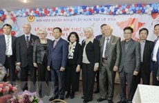 俄罗斯越南老兵协会隆重举行越南南方解放、国家统一44周年纪念活动