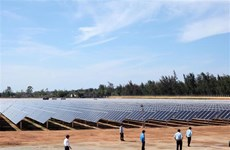广义省首家太阳能发电厂竣工投运