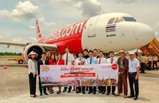 亚洲航空开通越南芹苴至泰国曼谷的直达航线