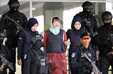 朝鲜公民被杀案:段氏香离开马来西亚雪兰莪州监狱