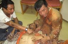 越南紧急救助一名海上病危外籍船员