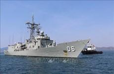 澳大利亚皇家海军两艘军舰对越南进行友好访问