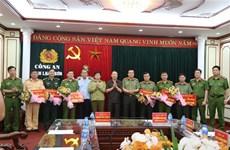 谅山省公安和边防部队成功破获越中跨境贩毒案 荣获表彰奖励