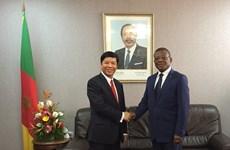 政府总理特使、外交副部长阮国强对喀麦隆进行工作访问