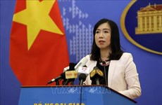 越南外交部发言人:越南建议东海周边国家继续为维持海上和平稳定做出贡献