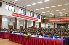 老挝国防部隆重举行奠边府大捷65周年纪念集会