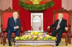 越南领导人致电祝贺以色列第71个独立日