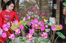 2019年顺化传统手工艺节的手工艺品