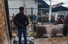 印尼一监狱发生暴乱警方抓获100多名越狱囚犯