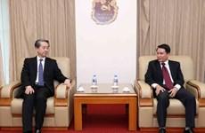 越通社社长阮德利会见中国驻越大使熊波