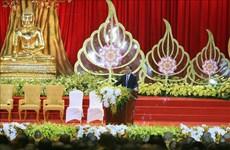 政府宗教委员会主任会见中国、老挝、柬埔寨、泰国等国佛教代表团