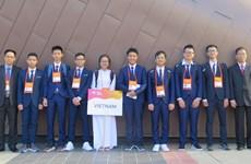 第20届亚洲物理奥林匹克竞赛:越南8名参赛选手均获奖