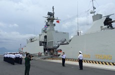 第四届东盟防长扩大会议海上安全实兵演习在新加坡结束