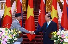 尼泊尔总理奥利圆满结束对越南进行的正式访问