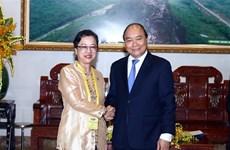 越南政府总理阮春福会见联合国副秘书长