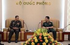 防务合作是越柬关系中的重要支柱之一