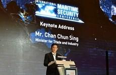 新加坡强调互信和合作对海事安全十分重要
