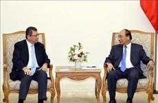 阮春福总理会见马来西亚外交部长赛夫丁