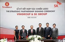 韩国SK集团对越南Vingroup投资10亿美元